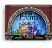 BBC Proms at The Royal Albert Hall Canvas Print