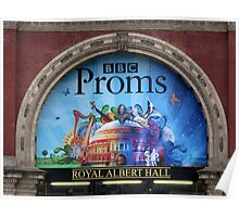 BBC Proms at The Royal Albert Hall Poster