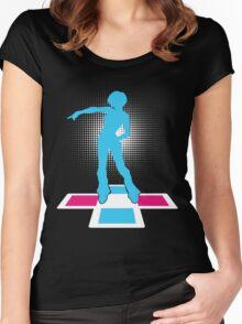STAY COOL Women's Fitted Scoop T-Shirt