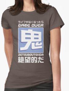 鬼Mode Womens Fitted T-Shirt