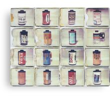 Film Collage #5 Canvas Print