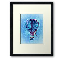 Hotair Balloon Framed Print