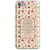 Bell's Humble Understatement iPhone Case/Skin