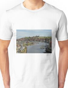 Whitby Marina and The River Esk Unisex T-Shirt