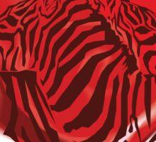 Zebras in Love Sticker