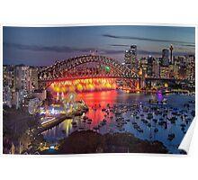 Sydney NYE Fireworks 2015 # 20 Poster