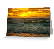 Southport Beach, South Australia at Sunset #3 Greeting Card