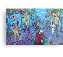'Hanoi Street' Metal Print