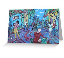 'Hanoi Street' Greeting Card