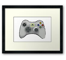 Xbox 360 Controller  Framed Print