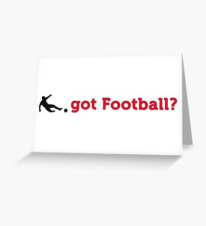 Can you football? Greeting Card