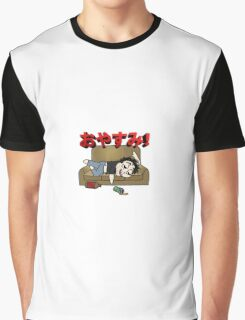 Pass out drunk! Graphic T-Shirt