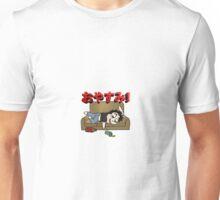 Pass out drunk! Unisex T-Shirt