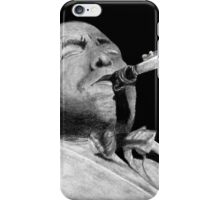 Saxophone Player iPhone Case/Skin