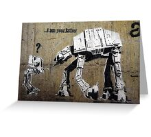 banksy-21 Greeting Card