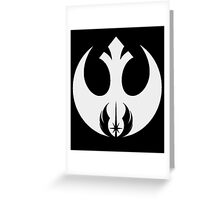 star wars power Greeting Card