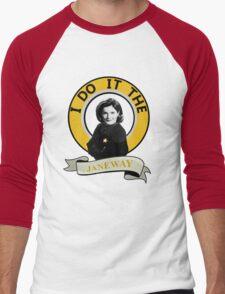 I do it the Janeway Men's Baseball ¾ T-Shirt
