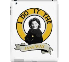 I do it the Janeway iPad Case/Skin