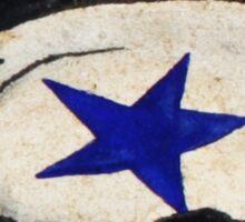 Sarsaparilla Star Bottlecap Sticker