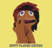 Zippy Played Guitar Baby Tee