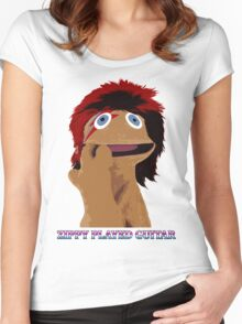 Zippy Played Guitar Women's Fitted Scoop T-Shirt