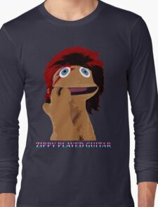 Zippy Played Guitar Long Sleeve T-Shirt