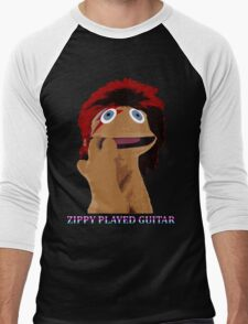 Zippy Played Guitar Men's Baseball ¾ T-Shirt