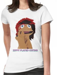 Zippy Played Guitar Womens Fitted T-Shirt
