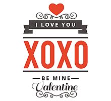 valentines day Photographic Print