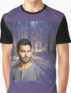 Derek Hale Into The Woods Graphic T-Shirt