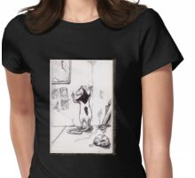 Rodential Self-Portrait 2015 Womens Fitted T-Shirt