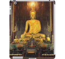 Buddha Statue at Wat Pan Tao Temple iPad Case/Skin