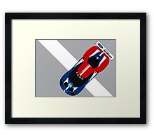 Ford GT WEC 2016 Priaulx Franchitti Ford Chip Ganassi Racing  Framed Print