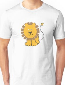 Funny cartoon baby lion Unisex T-Shirt