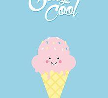 Stay Cool (cute) by elioandthefox