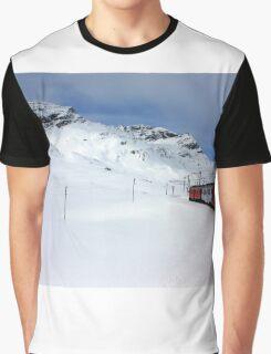 On the Bernina Express Graphic T-Shirt