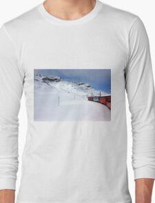 On the Bernina Express Long Sleeve T-Shirt