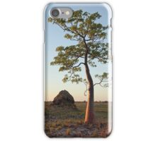 Termite Mound and Boab  iPhone Case/Skin