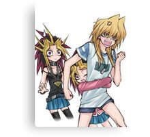 Yugi's and Joey Canvas Print