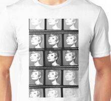Audrey Hepburn on Film Unisex T-Shirt