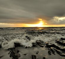 J-Bay sunrise by Hendrik Christoffel Du Plessis