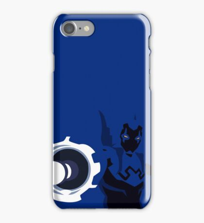 Blue Beetle Minimalism iPhone Case/Skin