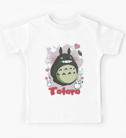 Cute Totoro Love Kids Tee