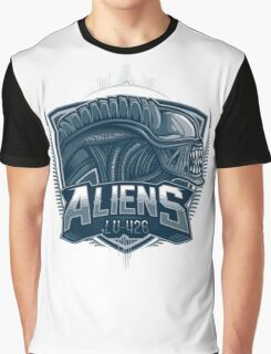 Aliens Team Graphic T-Shirt