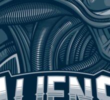 Aliens Team Sticker