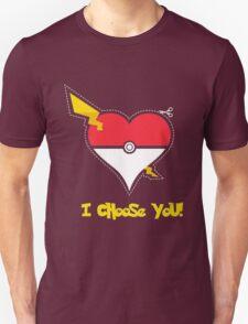 Pokemon Love I Choose You T-Shirt