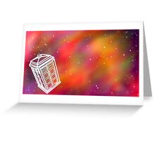 Bigger on the Inside Greeting Card