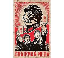 Chairman meow Photographic Print