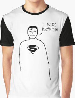 Badly drawn Superhero - Homesick (parody) Graphic T-Shirt