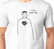 Badly drawn Superhero - Homesick (parody) Unisex T-Shirt